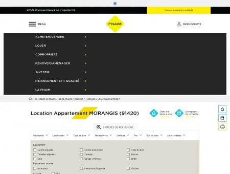 Location Appartement MORANGIS (91420) -...