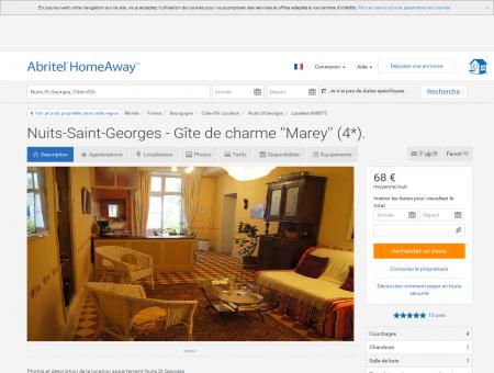 Nuits-Saint-Georges - Gîte de charme ''Marey''...