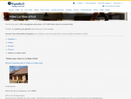 Hotel Le Mas-d'Azil - Réservez au meilleur prix...