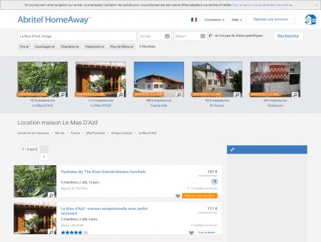 Le Mas D'Azil : location maison de vacances |...