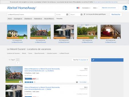 Location vacances Le Mesnil Durand : toutes...