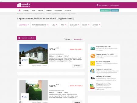 Location Longuenesse | avendrealouer.fr