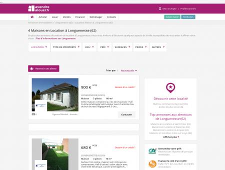 Location Maison Longuenesse (62) | Louer...