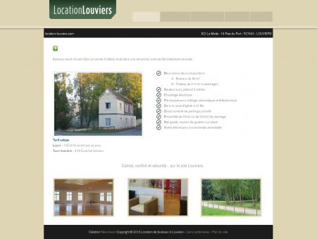 Location de bureaux neufs sur le site de...