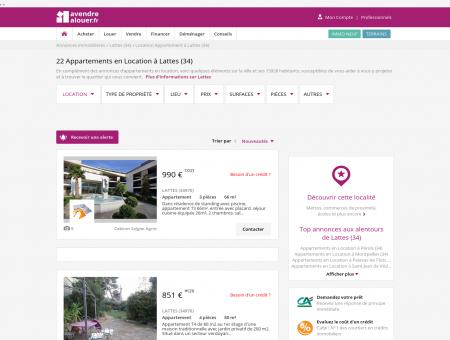Location Appartement Lattes (34) | Louer...
