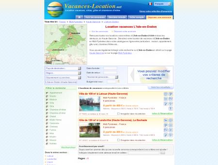 Location vacances L'Isle-en-Dodon (31230) -...