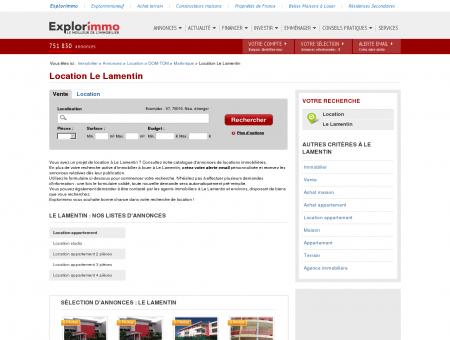 Location Le Lamentin : immobilier à louer Le...