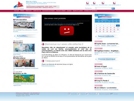 Bienvenue sur www.ville-lafleche.fr - Ville de La...