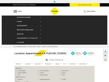 Location Appartement LA FLECHE (72200) -...