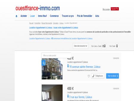 Location Appartement à Lisieux : louez votre...