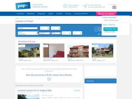 Location Le Pontet - Toutes les annonces de...