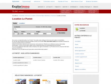 Location Le Pontet : immobilier à louer Le...
