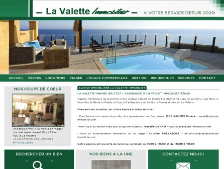 Lavalette immobilier - Ventes, locations,...