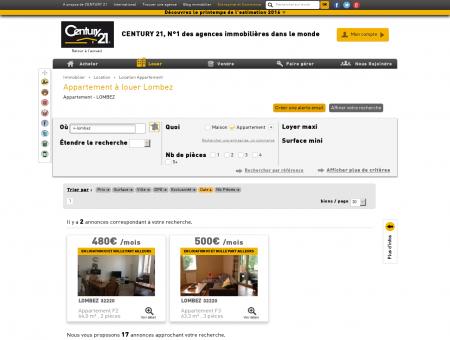 Location Appartement à LOMBEZ (32220) -...