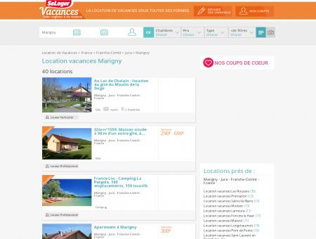 Location vacances Marigny 39130 (appart,...
