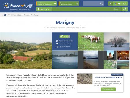 Marigny - Tourisme, Vacances & Week-end -...