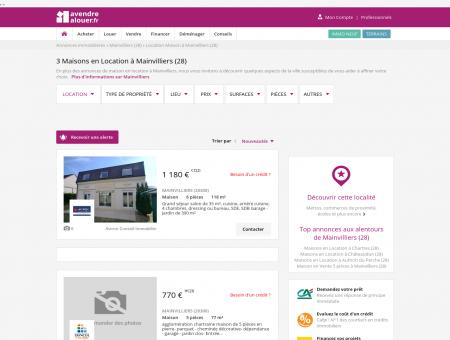 Location Maison Mainvilliers (28) | Louer...