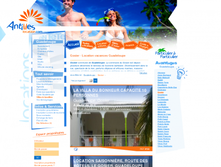 Gosier Guadeloupe - Location vacances Gosier...