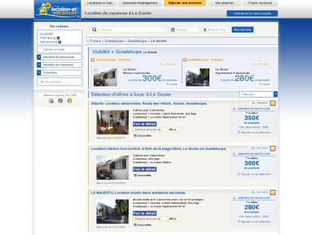 Location vacances Le Gosier : Locations Le...