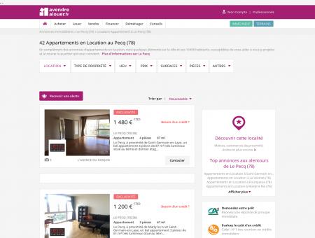 Location Appartement Le Pecq (78) | Louer...
