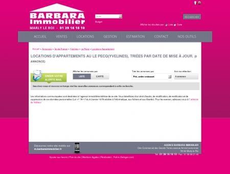 Location Le Pecq | barbaraimmobilier.fr