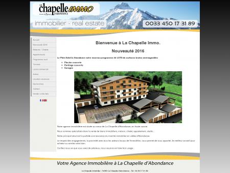 La Chapelle immobilier - Agence immobilière...