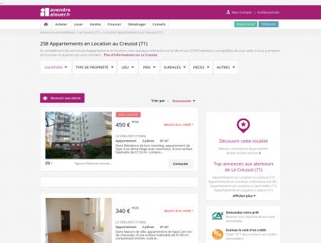 Location Appartement Le Creusot (71) | Louer...