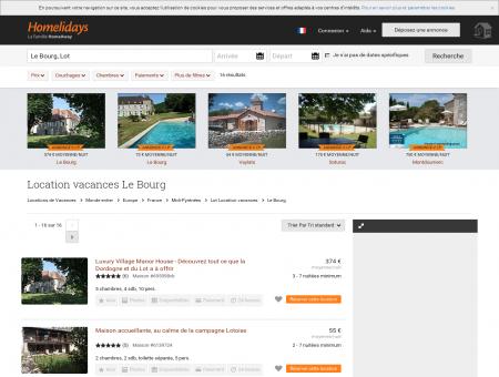 Location vacances Le Bourg : location...