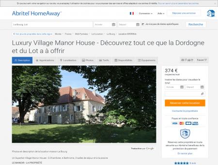 Maison Le Bourg - 1243936 | Abritel