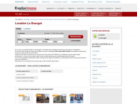 Location Le Bourget : immobilier à louer Le...
