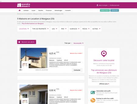 Location Maison Margaux (33) | Louer Maison...
