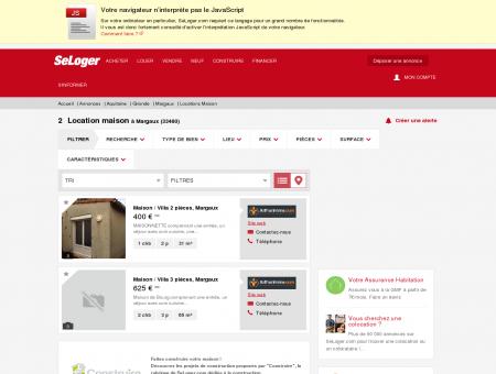 Location de maisons Margaux (33460) | Louer...