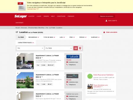 Location immobilier Le Pradet (83220) | Louer...