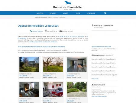 Agence immobilière Le Bouscat (33110), achat,...