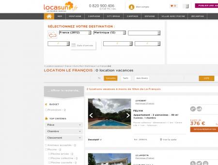 LOCATION LE FRANÇOIS : location vacances...