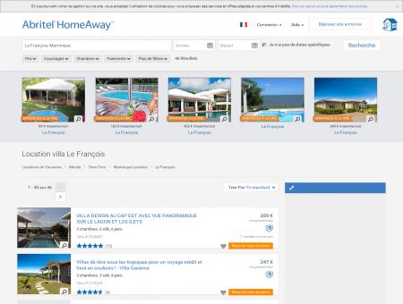 Le François : location villa de vacances | Abritel