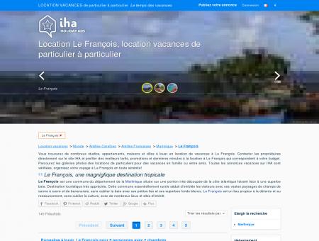 Location vacances Le François, Location Le...