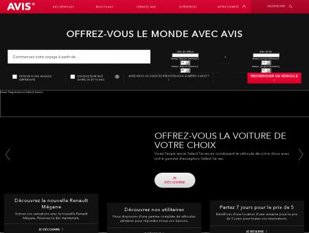 Avis® Location Voiture | avis.fr