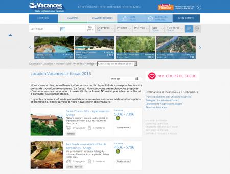 Location Vacances Le fossat - Locations Le...