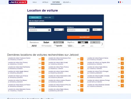 Location Voiture Dès 6/J | Jetcost.com