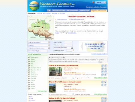 Location vacances Le Fossat (09130) -...