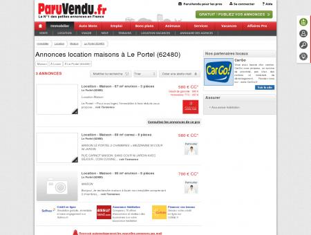 Location maison à Le Portel (62480) :...