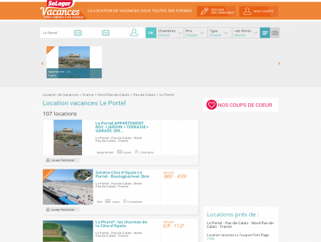 Location vacances Le Portel 62480 (appart,...