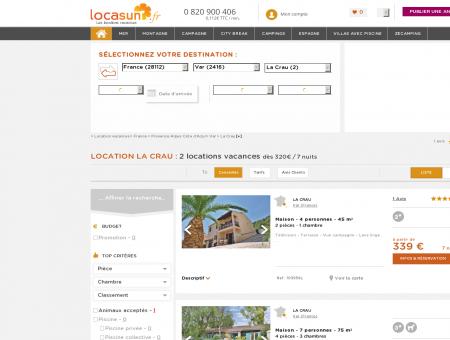 LOCATION LA CRAU : 2 locations vacances La...