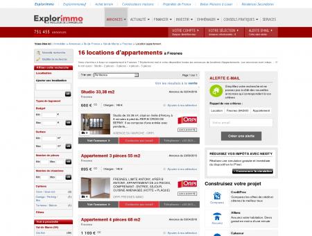 Location d'Appartements à Fresnes (94) :...