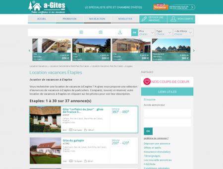 Location vacances Etaples - Vacances Etaples -...