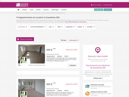 Location Appartement Gravelines (59) | Louer...