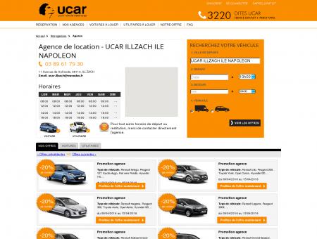 Location de voitures et utilitaires UCAR...