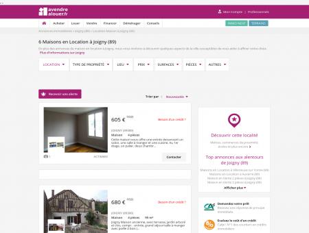 Location Maison Joigny (89) | Louer Maison...