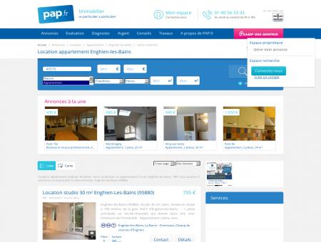 Location appartement Enghien-les-Bains -...